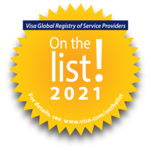 Visa Global Registry of Service Providers On the List 2021