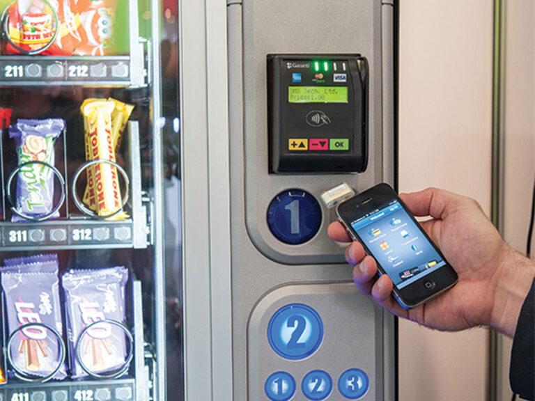 OTI Trio Kiosk and Vending POS Pay with Phone